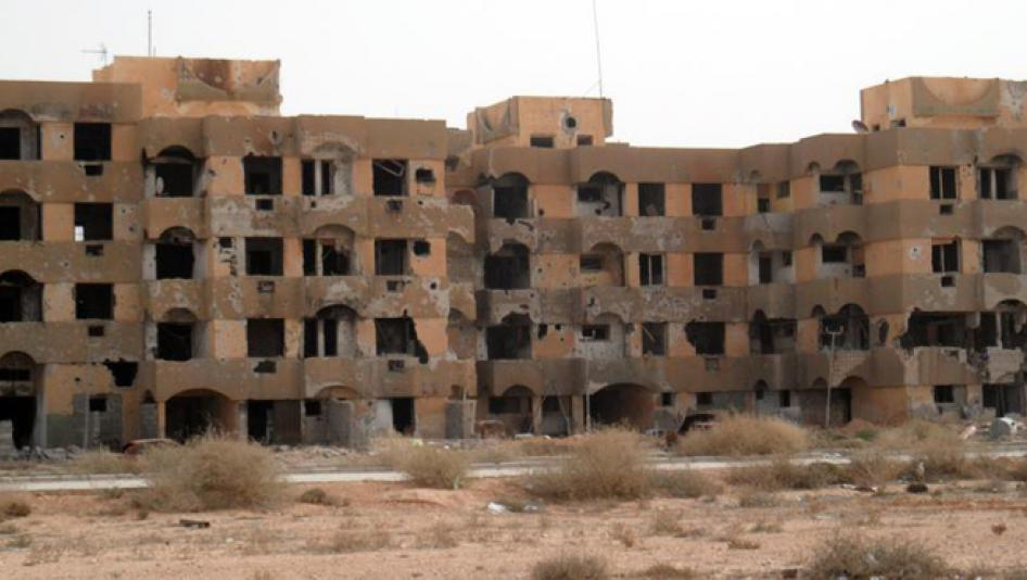 Libya's City of Tawergha: A Ghost Town