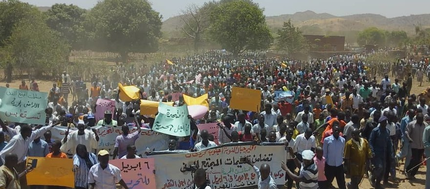 AFDH Denounces Repression of Peaceful Protests in Western Sudan