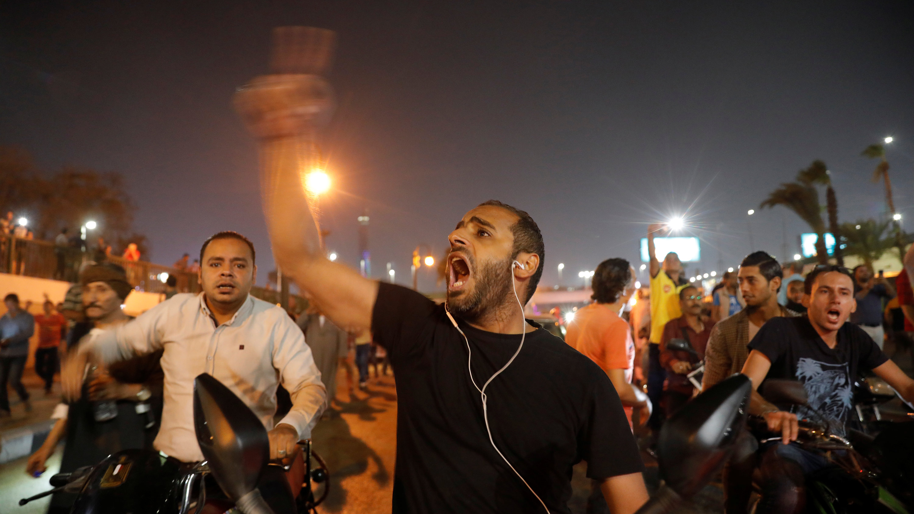 Egyptians Overcome Fear for the Sake of Hope